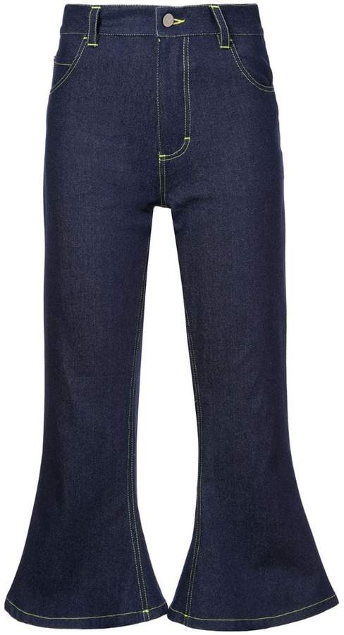 Hardeman cropped flared jeans