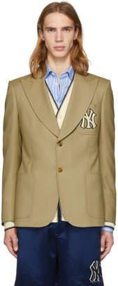 Gucci Khaki NY Yankees Edition Blazer