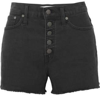 Madewell Denim Shorts - Black