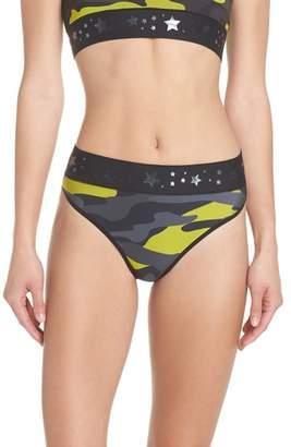 ULTRACOR Argon Camo High Waist Bikini Bottoms