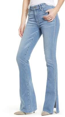 Paige Transcend Vintage - Lou Lou High Waist Flare Jeans