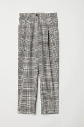 H&M Wide-leg Pants - White