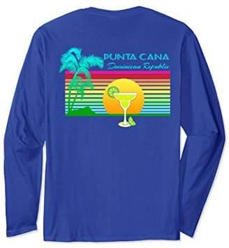 Vintage Punta Cana Caribbean Long Sleeve T-Shirt