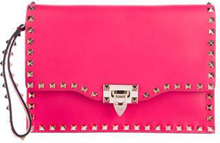 ValentinoValentino Rockstud Leather Clutch w/ Tags