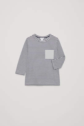 Cos STRIPED LONG-SLEEVED T-SHIRT