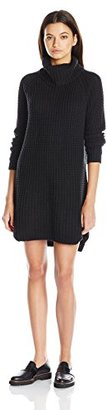 Element Women's Eleventh Long Sleeve Turtle Neck Sweater Dress $65.14 thestylecure.com