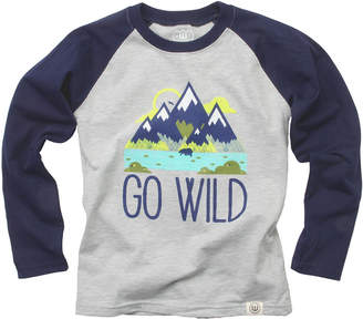 Wes And Willy Go Wild Raglan T-Shirt