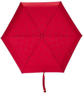 Moschino mini logo and bear print umbrella