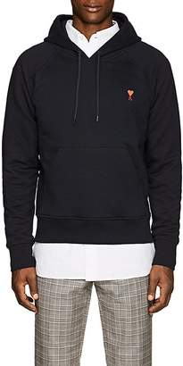Ami Alexandre Mattiussi Men's Embroidered Cotton French Terry Hoodie
