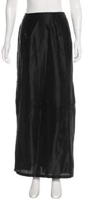Dries Van Noten Pleated Maxi Skirt