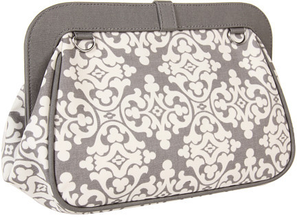 Petunia Pickle Bottom Glazed Cross Town Clutch