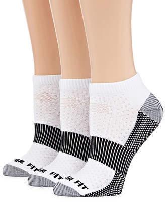 9dc739729c COPPER FIT Copper Fit 3 Pair No Show Socks - Womens