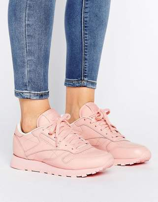 Reebok Classic Nylon X Spirit Sneakers In Pink $103 thestylecure.com