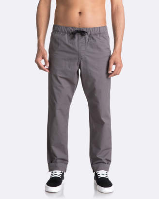 Quiksilver Mens Fun Days Straight Fit Pant