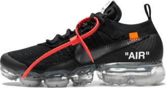 Nike The 10 Vapormax FK 'Off-White' - Black/Clear