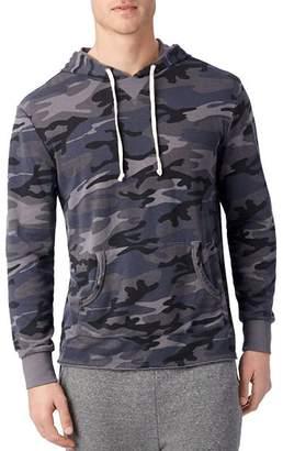 Alternative School Yard Camouflage Hooded Sweatshirt