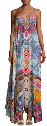 Camilla Embellished Crepe Full Maxi Dress, Sunday Best $700 thestylecure.com
