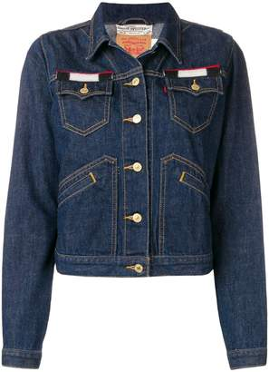 Jessie Western back patch denim jacket