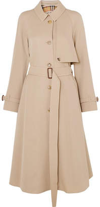 Burberry - The Cinderford Wool-gabardine Trench Coat - Beige