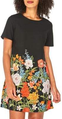 Dorothy Perkins Short Sleeve Floral Shift Dress