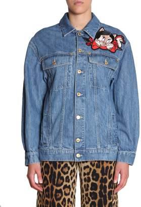 Moschino Jacket In Denim