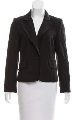 Marc Jacobs Satin-Trimmed Wool Blazer