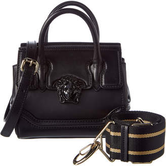 Versace Palazzo Empire Leather Satchel