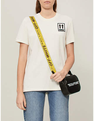 Off-White Stripes cotton-jersey T-shirt