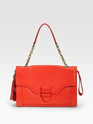 Derek Lam Eiko Calf Leather Shoulder Bag