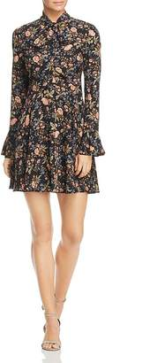 Re:Named Meadow Tie-Neck Dress $68 thestylecure.com