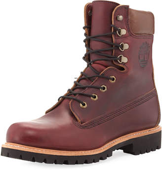"Timberland 8"" Premium Waterproof Hiking Boot, Wine"