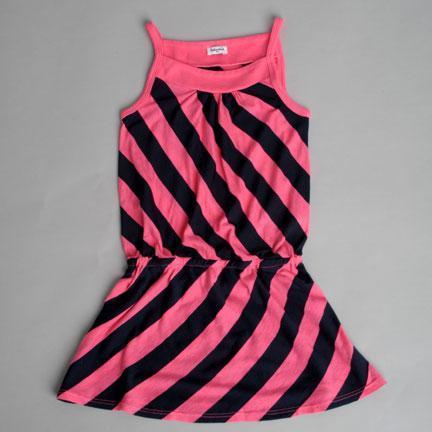 Splendid Littles Spltl-Navy Rugby Stripe Dress
