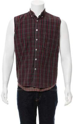 Maison Margiela Artisanal Reversible Button-Up Shirt