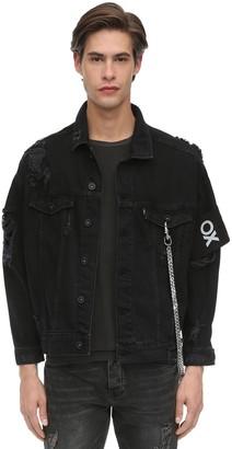 Other Oversize Crue Cotton Denim Jacket
