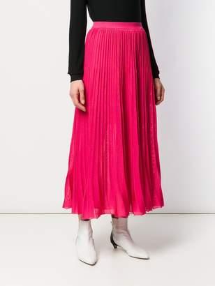 Sonia Rykiel pleated midi skirt