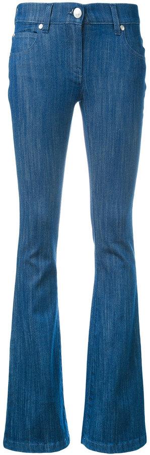 BalmainPierre Balmain logo plaque flared jeans