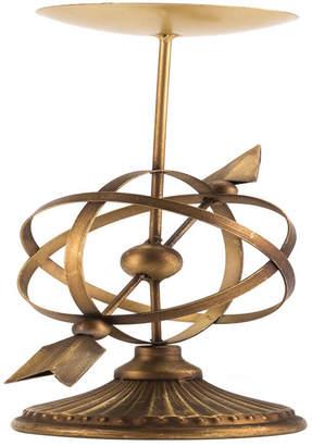 ZUO Mundo Candle Holder Lg Antique Brass