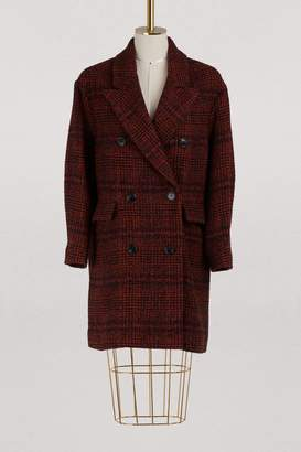 Etoile Isabel Marant Ebra virgin wool coat