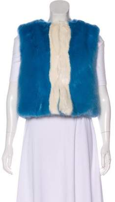Shrimps Perry Faux Fur Vest w/ Tags