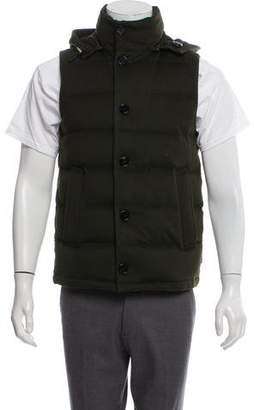 MACKINTOSH Wool Puffer Vest