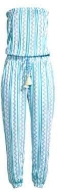 Cool Change Brooke Strapless Tehani Stripe Jumpsuit