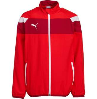 Puma Junior Boys Spirit II Woven Jacket Red/White