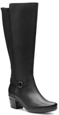 bc22bf333ac91 Clarks Black Leather Sole Boots For Women - ShopStyle Canada