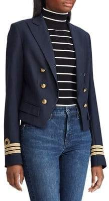 Lauren Ralph Lauren Slim-Fit Twill Military Jacket
