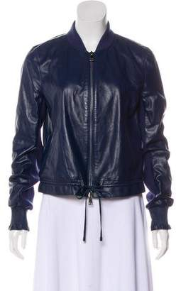 Ramy Brook Lamb Leather Casual Jacket