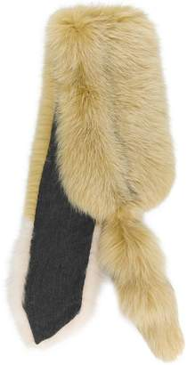 Marni fox fur stole