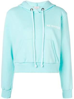 Natasha Zinko printed drawstring hoodie