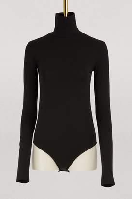 Acne Studios Cotton turtleneck bodysuit
