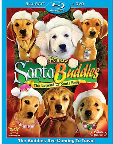 Santa Buddies: The Legend of Santa Paws - 2-Disc Combo Pack