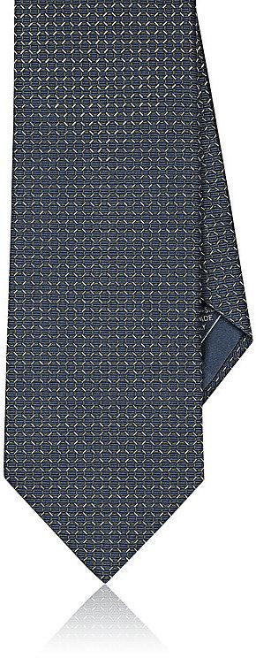 BrioniBrioni Men's Neat-Patterned Silk Necktie